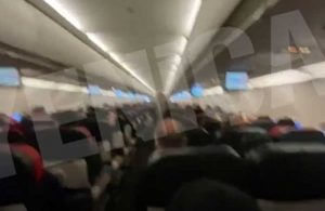 Ankara – İstanbul uçağında panik anları