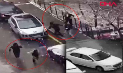 Selçuk Özdağ'a saldırı anı ortaya çıktı: Silahlar arka arkaya patladı