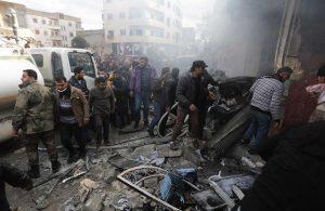 Azez ve Bab'da patlama: Çok sayıda ölü ve yaralı var
