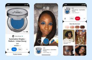 Pinterest makyaj setlerini test aşamasına açtı