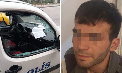 Polis otomobiline saldıran suç makinesinin ifadesi şoke etti