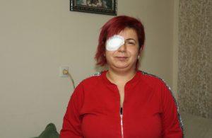 Alerji testi yapılmadan serum yüzünden gözünü kaybetti