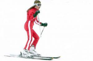 Dumpign sendromu nedeniyle zayıflayan Seren Serengil, kayak yaptı