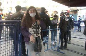 Taksim'de sokağa çıkma kısıtlamasına yakalanan genç: Neden ben neden?