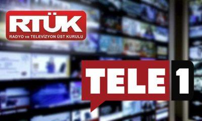 RTÜK'ün cezaları bitmiyor: TELE1'e bir ceza daha!