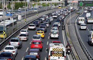 İstanbul'da kısıtlama öncesi trafik yoğunluğu yüzde 70'i aştı