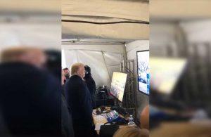 Destekçileri Kongre Binası'nı işgal ederken, Trump parti yapıp izledi