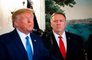 ABD'li diplomatlardan çağrı : Trump'ı adını anarak kınayın!