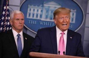 Trump ve Pence bir araya geldi: Kongre'yi işgal edenler bizi temsil etmiyor