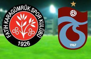 Trabzonspor Karagümrük'ü tek farkla devirdi
