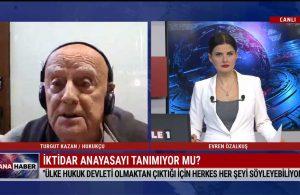 Hukukçu Turgut Kazan: Saray, Türkiye'nin imzasını ve anayasasını çiğniyor – TELE1 ANA HABER