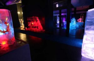 'Türkiye'nin tek buz müzesi' ziyaretçilerini büyülüyor