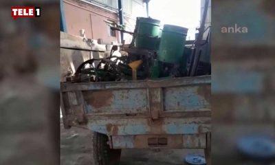 Acı tablo: Uşak'ta yaşayan bir çiftçi Ankara'daki eyleme katılmak için tarım makinesini hurdacıya sattı!