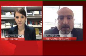 İBB Ulaşım Daire Başkanı Utku Cihan toplu taşıma yasağının detaylarını TELE1'e anlattı