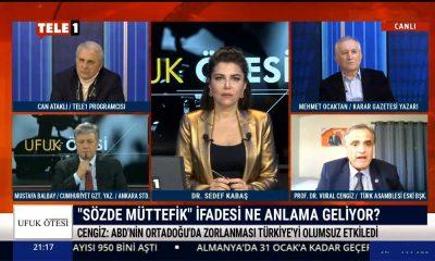 Eski Türk Asamblesi Başkanı Cengiz'den, Trump'ın sözlerine Emel Sayın'ın şarkısının sözleriyle yanıt