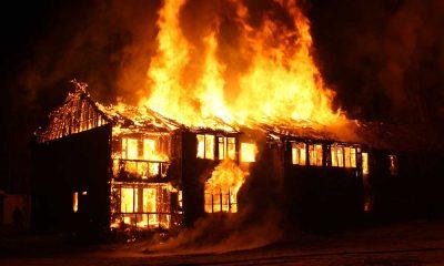 Kovid-19'a yakalanıp koku duyusuna kaybeden aile yangının başladığını fark etmedi