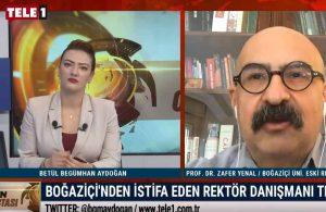 Prof. Dr. Zafer Yenal istifa nedenini ilk kez TELE1'de açıkladı – GÜN ORTASI