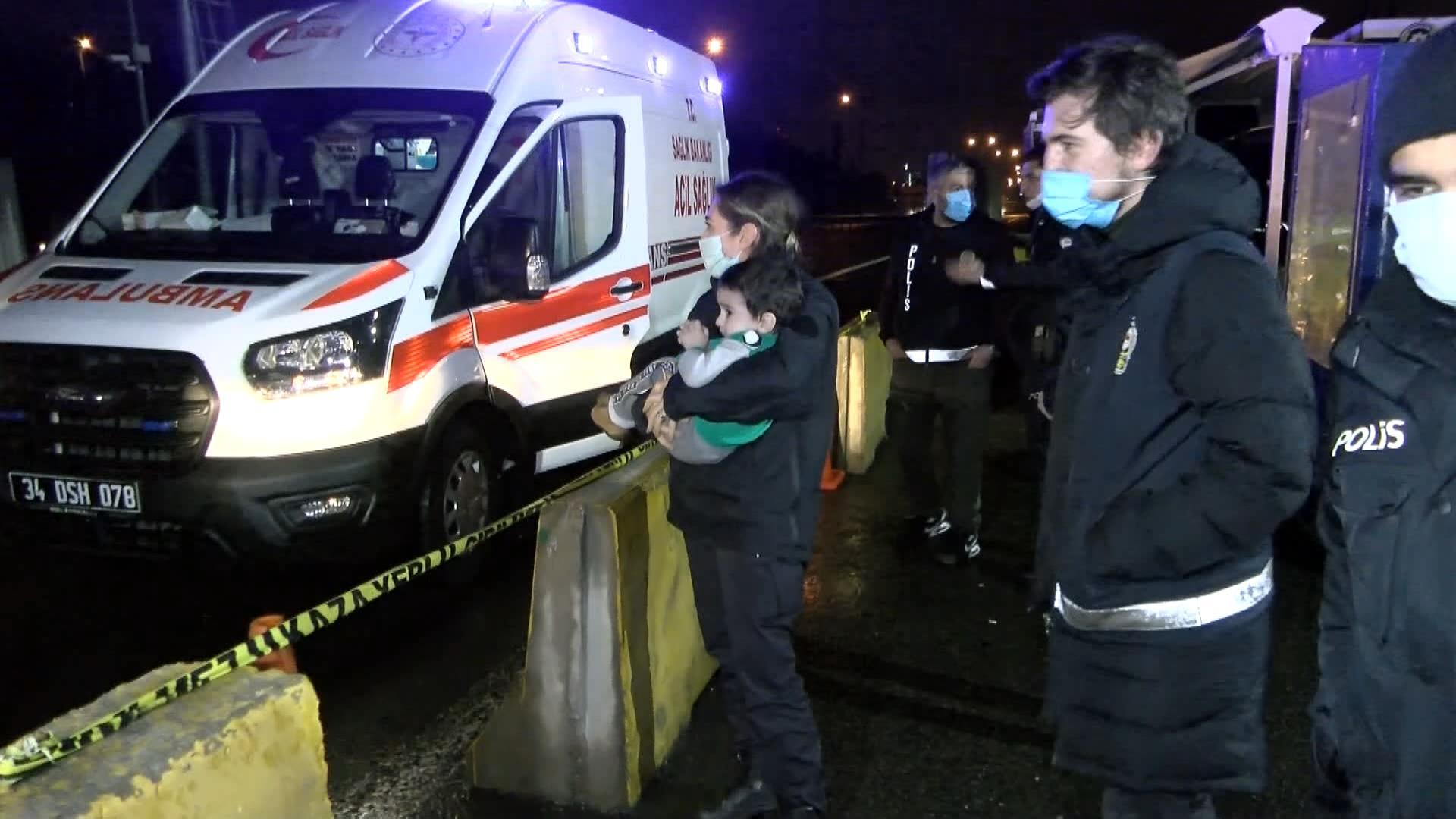 Alkollü sürücünün kullandığı otomobil takla attı: 4 yaralı
