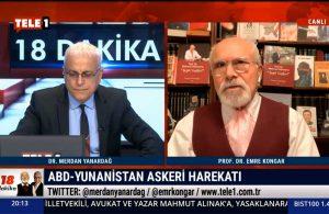 Yunanistan'la Türkiye arasında ne oldu? Emre Kongar TELE1'e özel açıkladı