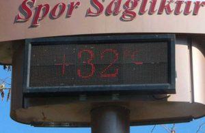 Adana şubat ayında 32 derece