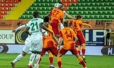 Galatasaray Alanyaspor deplasmanından üç puanla döndü
