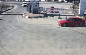 Kısıtlamayı ihlal edip, drift yapan sürücüye 7 bin lira ceza