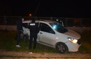 Polisten kaçıp, kaza yapan sürücünün arkadaşından gazetecilere: Allah'ın takdiri