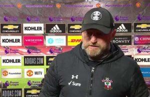9-0 yenilen Southampton teknik direktörü: Yapabileceğimiz bir şey yoktu