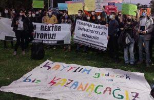 Dokuz Eylül Rektörlüğü, öğrencilere ceza yağdırdı!