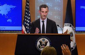 ABD Dışişleri'ndenErmenistan'a demokrasi çağrısı:Ordu siyasete karışmamalı
