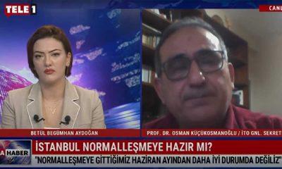 İstanbul 'normalleşmeye' hazır mı? – TELE1 ANA HABER