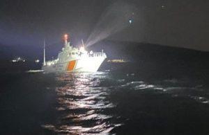 Gökçeada'da tekne alabora oldu! 1 ölü 2 kayıp