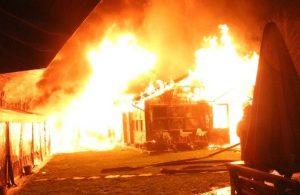 Boğaziçi Üniversitesi'nde yangın!