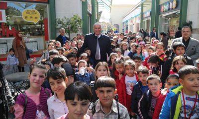 Antalyalı çocuklar Efeler'in tiyatrolarıyla buluştu