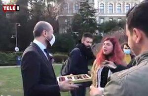 Kayyum rektör Bulu'nun arkadaşından 'pişkin' davranış: Öğrenciler isyan etti!