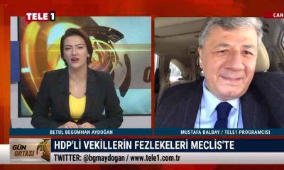 Mustafa Balbay: HDP'nin kapatılması da ekrana çıkartılması da yasak – GÜN ORTASI