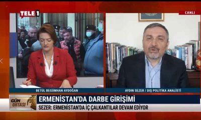 """""""Paşinyan'a karşı sokakta da oluşmaya başlayan muhalefet var"""" – GÜN ORTASI"""
