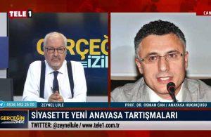 Anayasa hukukçusu Prof. Dr. Osman Can, 'yeni anayasa' kararını değerlendirdi – GERÇEĞİN İZİNDE