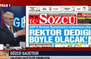 """""""Rektör bile yargıya talimat verebiliyor"""" – GÜN BAŞLIYOR"""