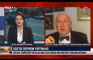 Prof. Dr. Ercan'dan ürküten deprem açıklaması – GÜN ORTASI