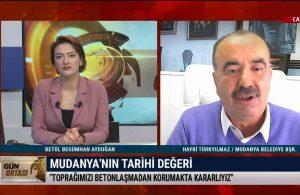 Mudanya Belediye Başkanı Türkyılmaz: Toprağımızı betonlaşmadan korumakta kararlıyız – GÜN ORTASI