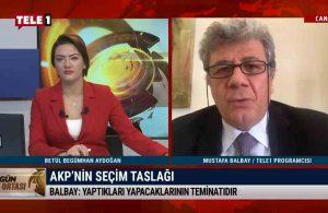 Mustafa Balbay: HDP ile bağlantılı tüm partileri terörist ilan etti – GÜN ORTASI