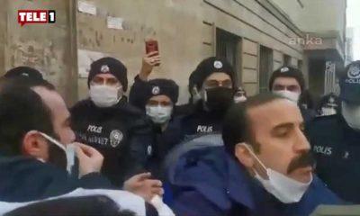İşten çıkarılan PTT emekçisi polise isyan etti: 'Ben işçiyim, babayım ben baba!'