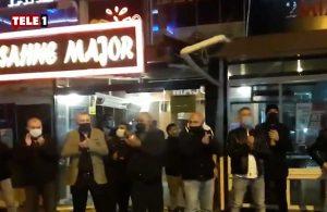 Ankara'daki restoran işletmecilerinden alkışlı protesto