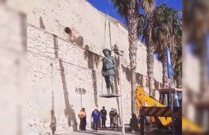 İspanya'da diktatör Franco'nun son heykeli de kaldırıldı