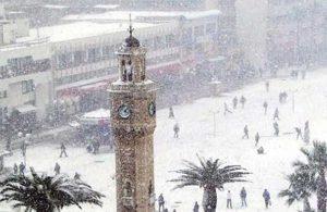 İzmirliler dikkat: Kar ve fırtına uyarısı yapıldı!