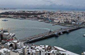 Soğuk ve karlı hava! İşte İstanbul'dan kar manzaraları