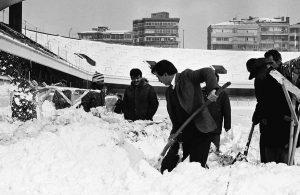 'Böyle olabilir' denilmişti! İşte 1987'de İstanbul'da etkili olan kar yağışı