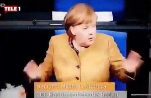 Merkel'in o anları sosyal medyada gündem oldu: 'Çok mütevazi'