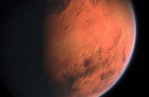 NASA, Mars'taki Jezero Krateri'nin fotoğrafını paylaştı